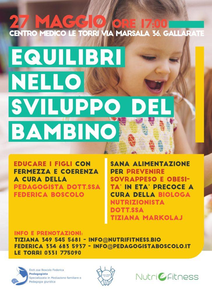 Centro Medico Le torri Gallarate - Equilibri nello sviluppo del bambino